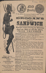 Advert For Drogan's Mayonaise Sandwich